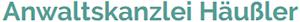 Anwaltskanzlei Häußler Logo